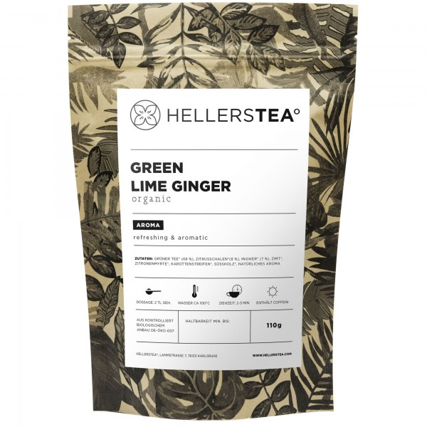 GREEN LIME GINGER